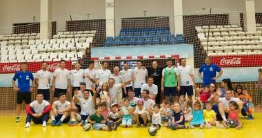 Handbaliştii de la HC Dobrogea Sud  au plecat în cantonament, în Slovenia