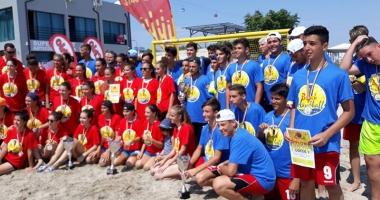 HC Dobrogea Sud şi CSŞ 1 Constanţa, campioane naţionale la handbal pe plajă