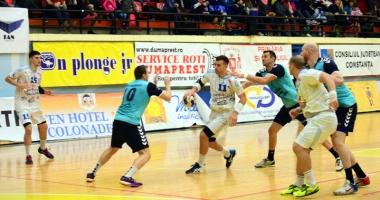 Primul meci oficial al anului pentru HC Dobrogea Sud, mutat o zi mai devreme