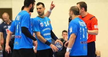 Handbal masculin: HCM Constanța a pierdut în fața CSM București