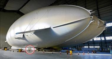 Cea mai lung� aeronav� din lume a zburat pentru prima dat�
