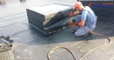Cele mai eficiente lucrări hidroizolații  de la terase, acoperișuri, poduri, iazuri