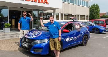 Noul Civic Tourer, record mondial în materie de eficienţă