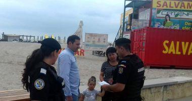 Atenţie la hoţi! Campanie de prevenire a furturilor, pe litoral