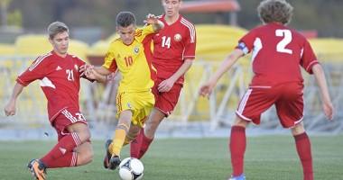 Ianis Hagi a marcat  pentru România U16