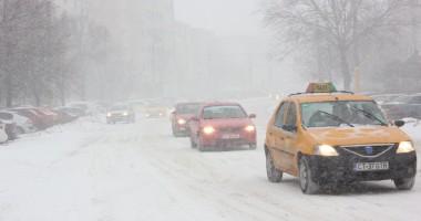 Informare meteo/ Lapoviţă şi ninsoare, mâine noapte, la Constanţa