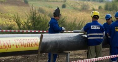 România a încheiat lucrările la gazoductul Iaşi-Ungheni
