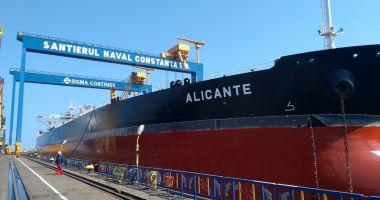 Iată câte nave străine sunt în reparații la Constanța, Midia și Mangalia