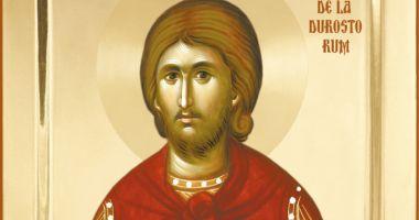 Credincioșii îl cinstesc pe Sfântul Mucenic Emilian de la Durostor