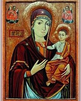 Icoana  Maicii Domnului  de la mănăstirea Nicula soseşte  la Constanţa