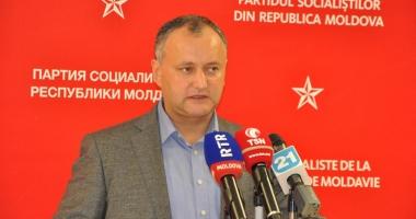 Igor Dodon, undă verde pentru propaganda rusă în Moldova