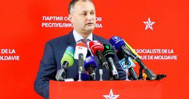 Igor Dodon,  cap de listă  al socialiştilor la viitoarele alegeri parlamentare