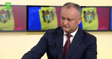 Igor Dodon, suspendat, din nou,  din funcţie