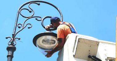 Faleza Cazinoului beneficiază de iluminat performant