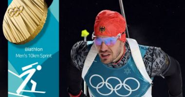 Germanul Arnd Peiffer – campion olimpic la sprint. Cornel Puchianu – locul 60
