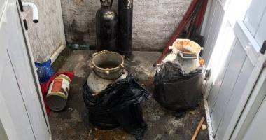 Galerie foto-video / Imagini de groază din bucătăria unei terase din Eforie Sud! OPC este în control