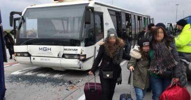 Opt români răniţi în accidentul de pe aeroportul din Budapesta. Anunţ făcut de MAE în urmă cu puţin timp