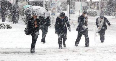 Foto : VIN NINSORILE ŞI LAPOVIŢA! Temperaturile vor scădea și până la -15 grade Celsius
