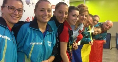 UPDATE. Finalele Campionatului European de Tenis de Masă. ROMÂNIA - GERMANIA 1 - 1