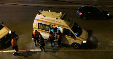 ACCIDENT RUTIER GRAV LA CONSTANŢA! Sunt implicate un autoturism şi un microbuz