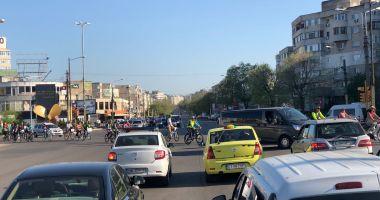 Galerie foto / Protest al bicicliştilor din Constanţa!