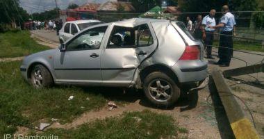Poliţiştii l-au prins pe minorul de 14 ani, care a produs un accident rutier cu o victimă