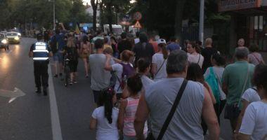 PROTESTE DE AMPLOARE ȘI LA CONSTANȚA - FOTO