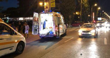 GALERIE FOTO. ACCIDENT RUTIER LA CONSTANȚA! Victime, doi tineri