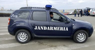 Jandarmii din Constanţa, în misiune, în weekend