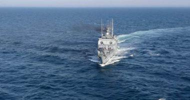 GALERIE FOTO / Misiune de căutare pe Marea Neagră. A intervenit şi elicopterul Puma Naval