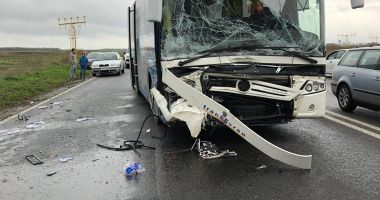 Foto. Grav accident rutier în județul Constanța. Victime, doi deputați!
