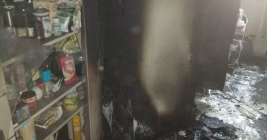 ISU Constanța: Persoană inconștientă, scoasă dintr-un apartament plin de fum
