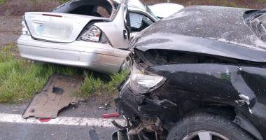 Foto. Grav accident rutier în județul Constanța! Două victime