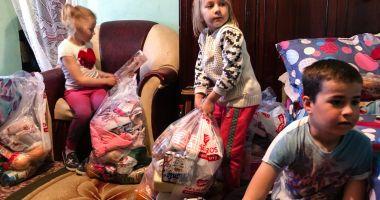 Iepurașul a venit la familii defavorizate, din Constanța
