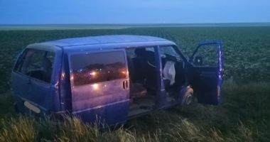 Accident de microbuz, la Constanța! Opt victime
