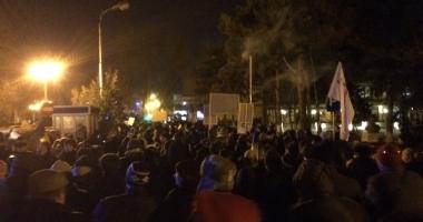 GALERIE FOTO-VIDEO / PROTESTE DE AMPLOARE la Constanţa: