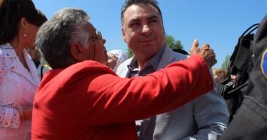 Primarul Nicolae Matei a dat startul petrecerii de 1 Mai, la Năvodari