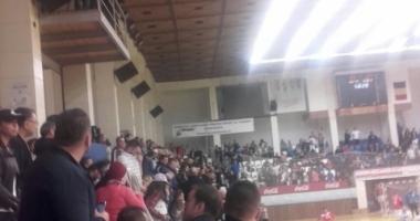 Primele măsuri după incidentele de la meciul HC Dobrogea Sud - CS Dinamo Bucureşti