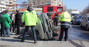Cine este vinovat de producerea accidentului rutier de la Podul de la Butelii?
