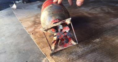 Bombă de patru kilograme, găsită pe plaja din Eforie Sud
