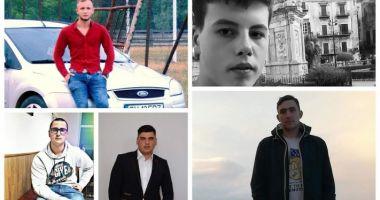 Cine sunt cei cinci tineri care au murit în tragicul accidentul de duminica noapte