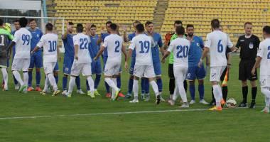 Galerie foto. S-au marcat cinci goluri în meciul dintre FC Farul Constanţa şi FC Academica Clinceni