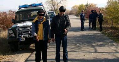 Emigranţi reţinuţi la frontiera cu Bulgaria