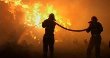 Incendiu puternic în Constanţa!