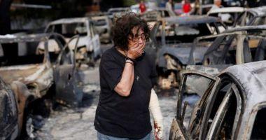 Incendiu Grecia. Bilanţul deceselor creşte: 87 de persoane au murit
