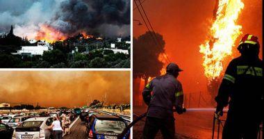 Ministerul de Externe: Nu există români victime ale incendiilor din Grecia