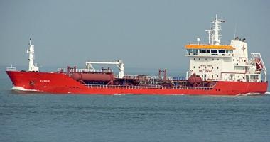 Incendiu la bordul unei nave încărcate cu ulei de floarea-soarelui
