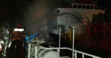 Incendiu pe un tanc LPG, în Indonezia