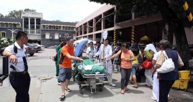 Spital mistuit de foc. Cel pu�in 19 persoane au murit