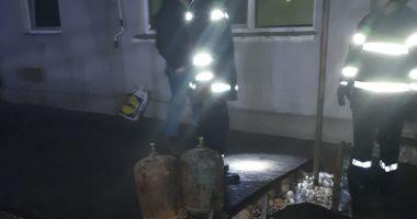 Incendiu în localitatea Techirghiol. A ars tot acoperişul unei case